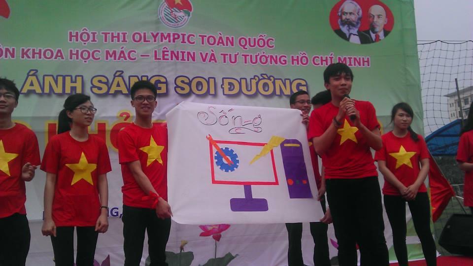 Hội thi OLYMPIC các môn khoa học Mác Lê Nin và tư tưởng Hồ Chí Minh 2015 - ảnh 4