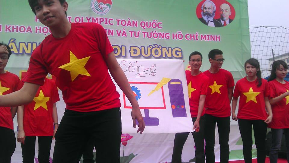 Hội thi OLYMPIC các môn khoa học Mác Lê Nin và tư tưởng Hồ Chí Minh 2015 - ảnh 5