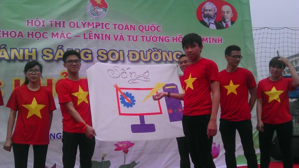 Hội thi OLYMPIC các môn khoa học Mác Lê Nin và tư tưởng Hồ Chí Minh 2015 - ảnh 13