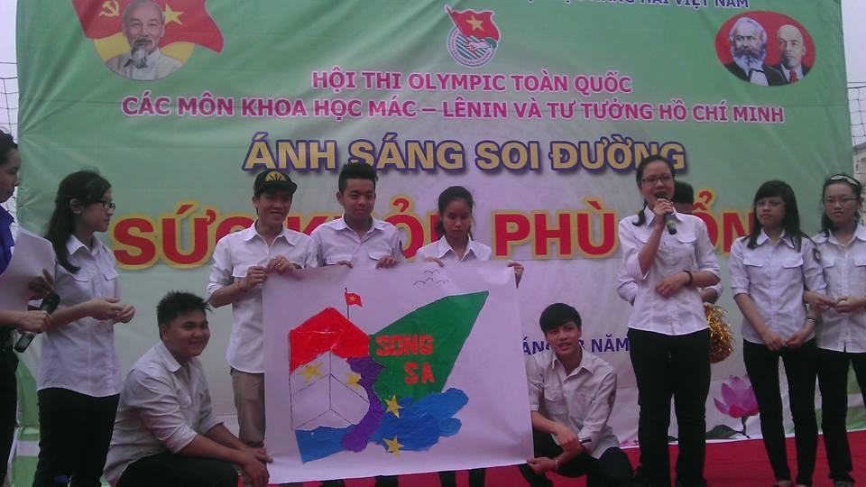 Hội thi OLYMPIC các môn khoa học Mác Lê Nin và tư tưởng Hồ Chí Minh 2015 - ảnh 16