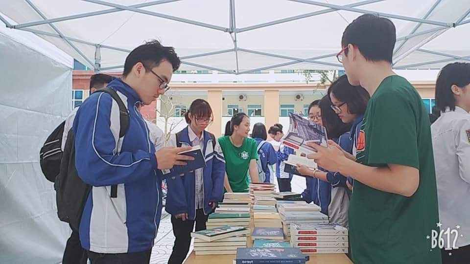 Ngày hội sách VIMARU 2019 - góp phần phát triển văn hóa đọc trong sinh viên
