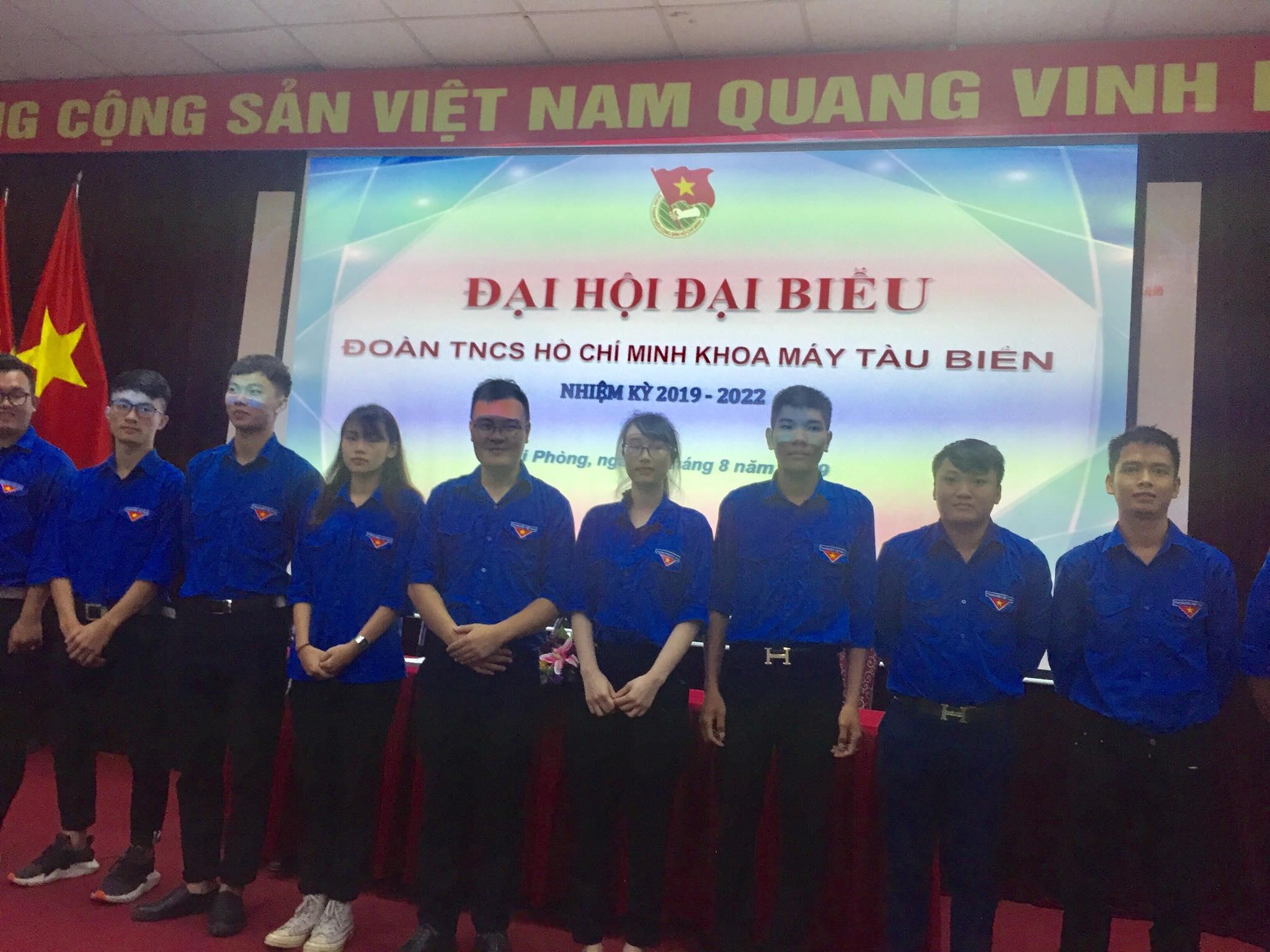 Đại hội đại biểu Liên chi đoàn khoa Máy tàu biển nhiệm kỳ 2019 - 2022 thành công tốt đẹp