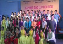 Chương trình giao lưu hữu nghị với lưu học sinh Lào, Campuchia và Thái Lan
