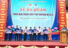 Đoàn trường tham dự lễ ra quân chiến dịch hè tình nguyện của thành phố Hải Phòng