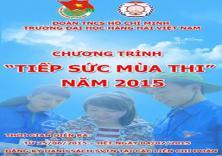 Đoàn trường khởi động chiến dịch tiếp sức mùa thi năm 2015