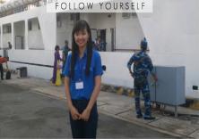 Đại diện Đoàn trường tham dự hành trình tuổi trẻ vì biển đảo quê hương