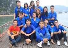 Chiến dịch mùa hè xanh 2015 tại xã Bản Sen, Huyện Vân Đồn, Quảng Ninh