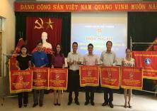 Đoàn trường đạt danh hiệu ĐV dẫn đầu công tác Đoàn và phong trào thanh niên khối ĐH, CĐ