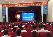Đoàn trường tổ chức chương trình giáo dục giới tính và chăm sóc sức khỏe sinh sản