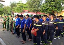 Hoạt động tình nguyện bảo vệ môi trường biển tại Đồ Sơn