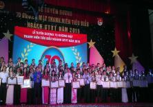 Đoàn viên thanh niên Nhà trường được biểu dương tại Lễ biểu dương 70 gương mặt thanh niên tiêu biểu ngành Giao thông vận tải