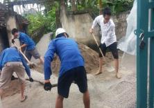 Chiến dịch mùa hè xanh năm 2016 - Dấu ấn sinh viên tình nguyện trường Đại học Hàng hải Việt Nam