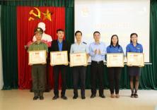Đoàn trường đạt danh hiệu đơn vị xuất sắc trong Chiến dịch TNTN Hè 2016