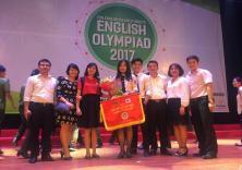 2 sinh viên Viện ĐTQT góp mặt trong đội tuyển đại diện trường ĐH Hàng hải Việt Nam xuất sắc đạt giải Nhì cuộc thi Olympic Tiếng Anh chuyên toàn quốc 2017