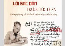 """Diễn đàn """"Tuổi trẻ Việt Nam nhớ lời Di chúc theo chân Bác"""""""