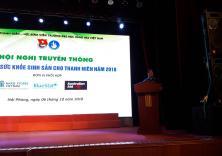 Hội nghị truyền thông về chăm sóc sức khỏe sinh sản cho thanh niên năm 2018