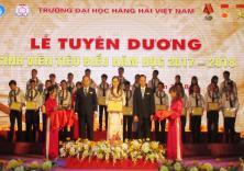 Lễ tuyên dương Sinh viên tiêu biểu năm 2018