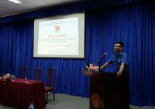 """Hội nghị triển khai học tập """"6 bài học lý luận chính trị cơ bản"""" cho đoàn viên sinh viên khóa 59"""