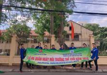 Ra quân hưởng ứng Ngày môi trường thế giới 5-6-2019