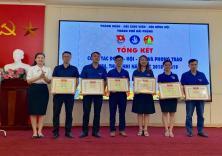 Đoàn Thanh niên - Hội Sinh viên Nhà trường nhận Bằng khen và Cờ thi đua vì có thành tích xuất sắc trong năm học 2018 - 2019