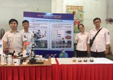 Dự án khởi nghiệp của đoàn viên sinh viên Nhà trường tham dự TECHFEST Haiphong 2019