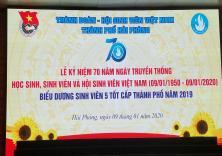 Lễ Kỷ niệm 70 năm ngày truyền thống Học sinh, Sinh viên Việt Nam