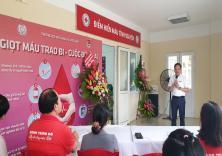 Điểm hiến máu tình nguyện Trường Đại học Hàng hải Việt Nam - Mô hình mới trong công tác vận động hiến máu tình nguyện