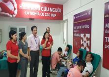 Chương trình Giọt hồng yêu thương lần 2 và Hội nghị tuyên truyền, vận động hiến máu tình nguyện năm 2020