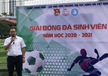 Lễ khai mạc giải bóng đá nam sinh viên năm 2020 - 2021 và kết quả lượt trận đầu tiên