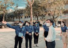 Nguyễn Mạnh Hoàng - Tấm gương sinh viên tình nguyện chiến dịch Tiếp sức mùa thi 2021